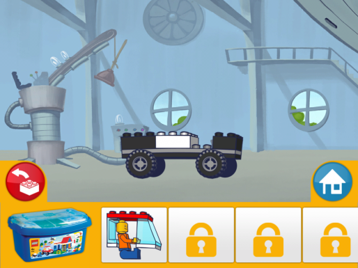 Pantalla de Lego App4+