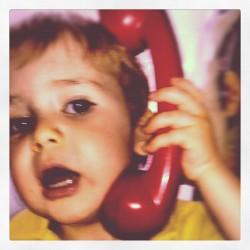teléfono rojo Telefónica