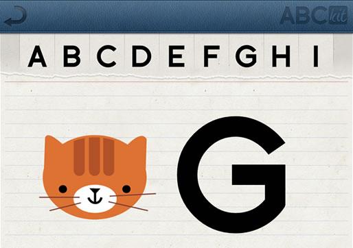 ABCKit pantalla de la app