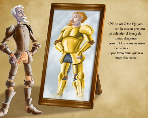 Don Quijote app
