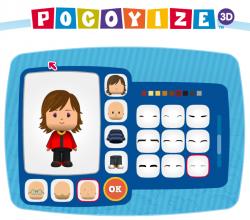 Aplicación Pocoyize 3D