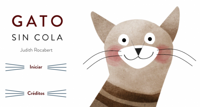 Gato sin cola, un cuento para leer en todas las direcciones