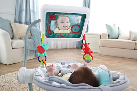 fisher price hamaca bebé ipad