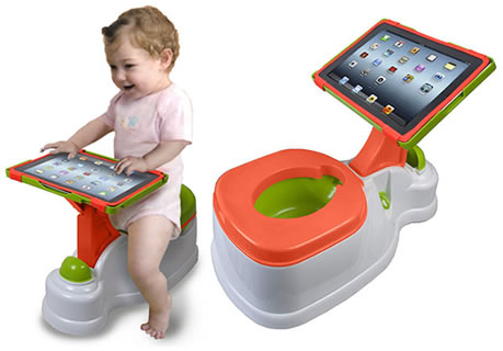 ipotty ipad (orinal con iPad)