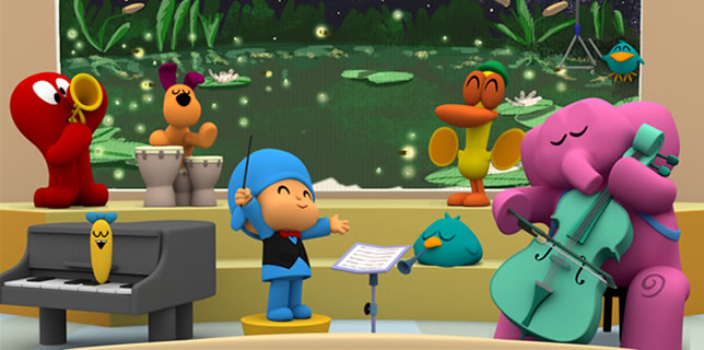 pocoyo classic music for kids