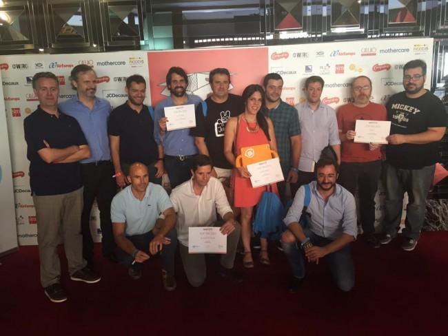Lps ganadores de los diplomas a las mejores apps 'made in Spain' de 2015