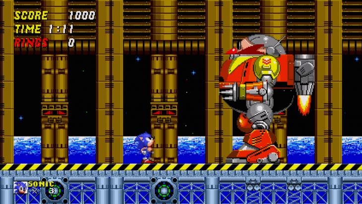 Pantalla de app de Sonic