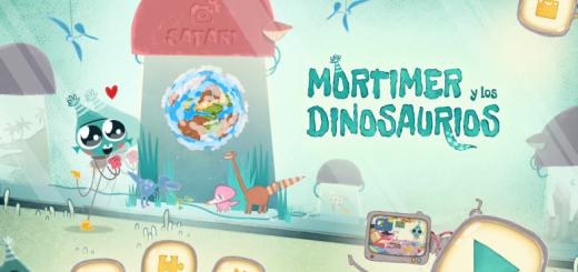 Mortimer y los dinosaurios