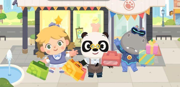 Dr Panda de compras por la ciudad